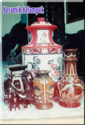 keramik klampok